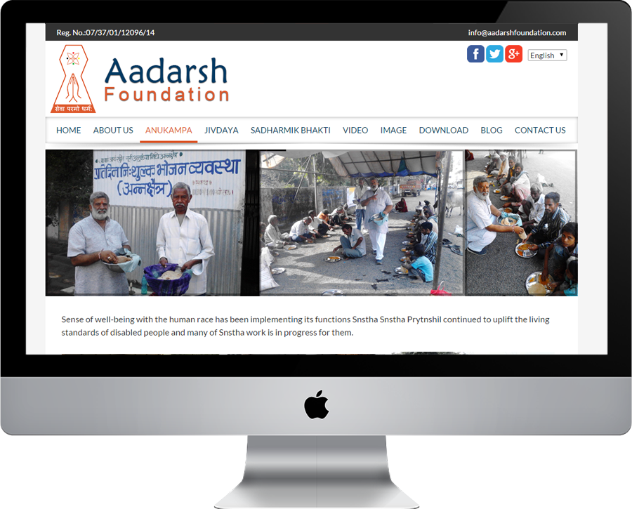 Aadarsh Foundations Anukampa