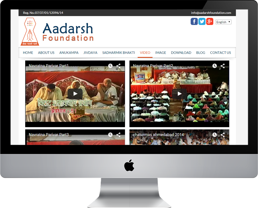 Aadarsh Foundations Video