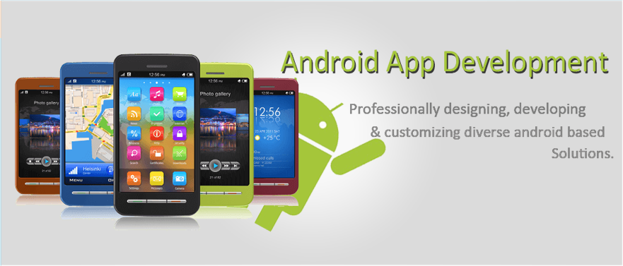 Android Development Submenu Banner