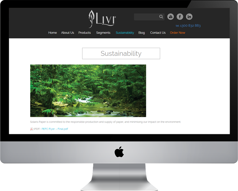 Livitissue Sustainability