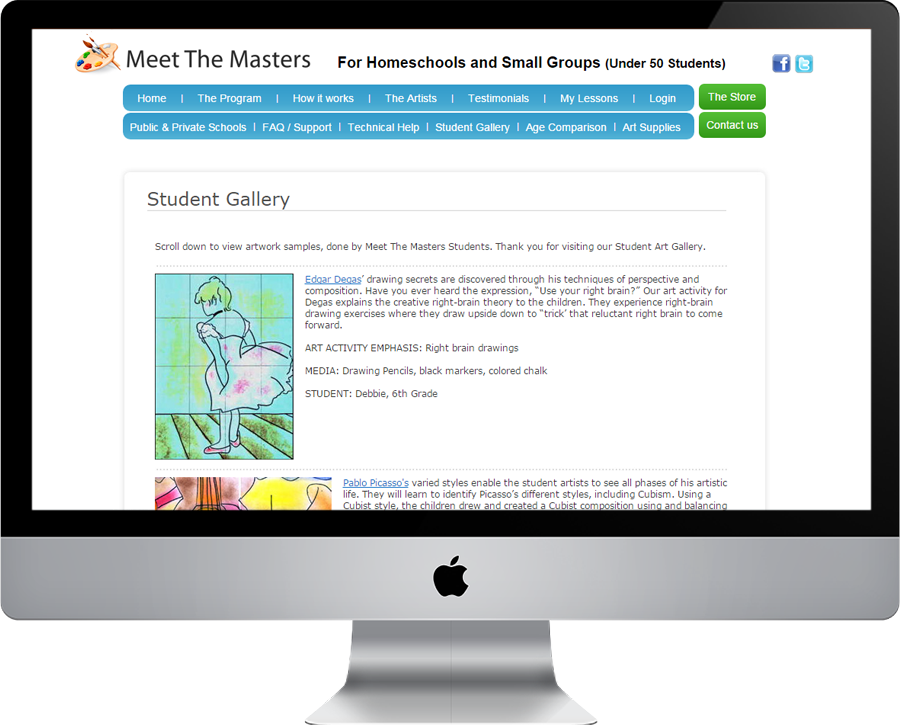 Meet The Masters Gallery