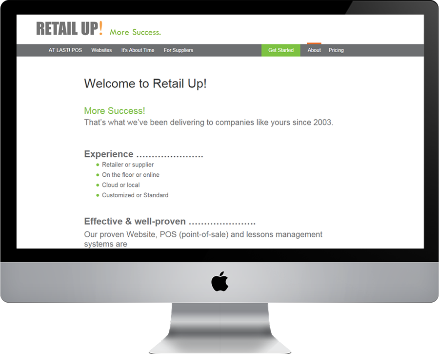 Retailup About