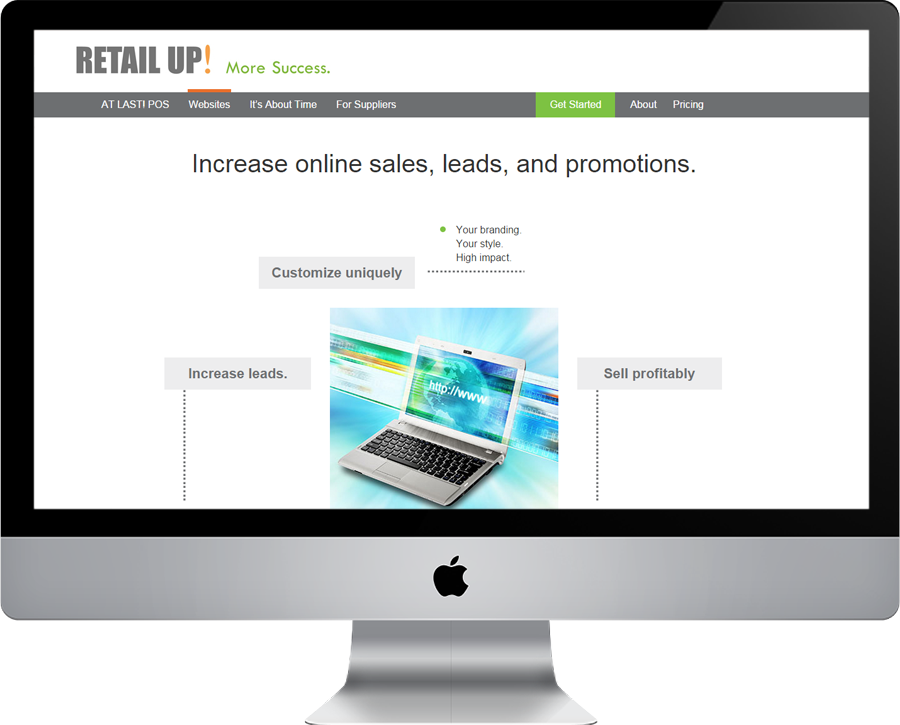 Retailup Website