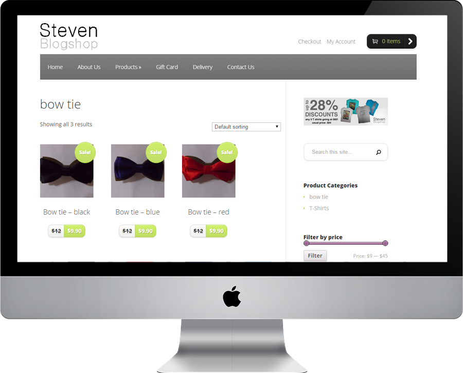 Steven Blogshop Product Bow-tie