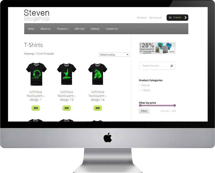 Steven Blogshop Product T-shirts