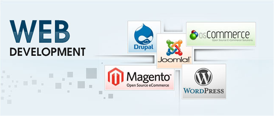 Web Development Submenu Banner