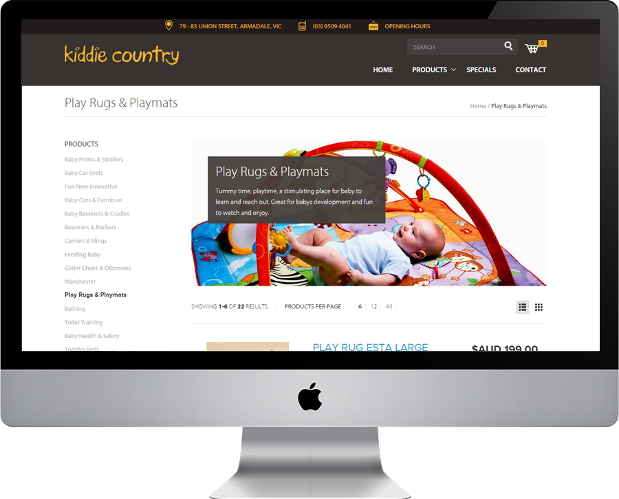 Kiddie Country Category